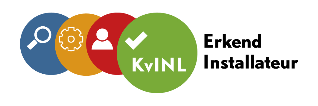 logo KVINL erkend instalateur